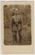 DEUTSCHER SOLDAT WW I GERMAN SOLDIER * Vintage Photo PC 1914/18