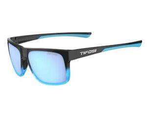 Tifosi Swick Cycling Sport Sunglasses Onyx Blue Fade / Sky Blue