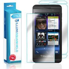 2x iLLumi AquaShield HD Front Screen + Back Panel Protector for BlackBerry Z10