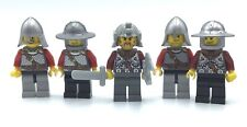 LEGO LOT OF 5 VIKING KNIGHT CASTLE MINIFIGURES KINGDOMS SOLDIER FIGURES