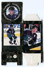 1998-99 Pacific Aurora Cubes TEEMU SELANNE Flat Proof Anaheim Ducks Rare SP Cube