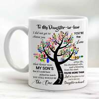 To My Daughter In Law Coffee Mug Funny Daughter In Law Mug Gift Thankful Gift