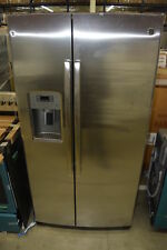 """Ge Pzs22Mskss 36"""" Stainless Side By Side Refrigerator Nob #32506 Mad"""