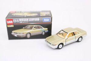 Takara Tomy Tomica Premium No.04 Nissan Leopard Diecast Car Japan Scale 1/63
