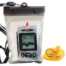 Wireless Portable Fish Finder Ice Fishing Sonar Sensor 240FT Depth Sounder Alarm