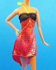 2016 Barbie Fashionistas Petite Crazy For Coral Doll Dress Also Fits Skipper