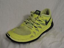 Nike Free 5.0 Running Shoes Boys Youth Sz 7Y Volt Run Gym Athletic FREE SHIPPING