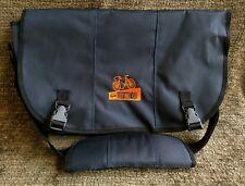 City Bike Company Navy Blue messenger laptop shoulder bag