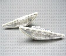 BMW 3 SERIES E46 2003-2006 COUPE PAIR SIDE LED INDICATOR REPEATER CLEAR SET L+R