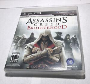 Assassin's Creed Brotherhood PlayStation 3 Video Game PS3 Manual Hard_8s_Magic