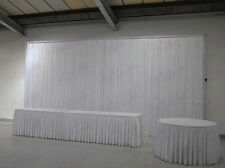 Backdrop Curtain Top Table Skirt and Cake Table Skirt Package for Sale