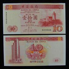 Macao Banknote P66 20 Patacas 1.9.1966 BNU  Prefix AZ UNC