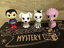 Funko Mini DC Super Heroes Pets Storm Seahorse Krypto Dog Comet Horse Superman