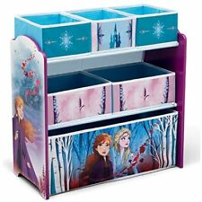 Delta Children Design & Store 6 Bin Toy Storage Organizer Disney Frozen II Child