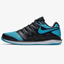 Nike Air Zoom Vapor X HC Mens Tennis Shoes Size US 12 GOAT BLUE BLACK ATHLETIC