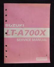 2000-2004 SUZUKI 700 LT-A700X ALL TERRAIN VEHICLE ATV SERVICE REPAIR MANUAL GOOD