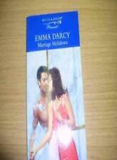 Marriage Meltdown (Presents),Emma Darcy