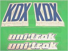 KDX 200 uni trak kdx200 moto cross vintage 89 90 motorcycle decals stickers