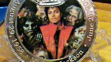 THRILLER Just In Time For HALLOWEEN~Michael Jackson~R.I.P.~Commemorative Coin