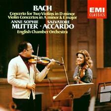 Anne-Sophie Mutter/Salvatore A - Bach: Concerto For Two Violins (NEW CD)