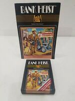 BANK HEIST by 20th CENTURY FOX for Atari 2600 Cartridge with Manual Near Mint!