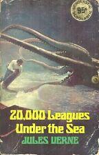 WALT DISNEY PHOTO COVER - 20,000 LEAGUES UNDER THE SEA  Jules Verne - Scholastic