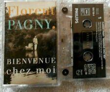 """Florent Pagny  """"Bienvenue Chez Moi"""" K7 audio TBE"""