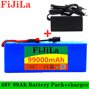 48V ebike battery pack 99000mAh For Electric bicycle Scooter with BMS+charger