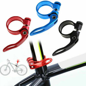Mountain Bike MTB Seat Post Clamp Bolt Quick Release 31.8mm UK