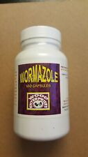Wormazole 100 capsules for roosters, gallos