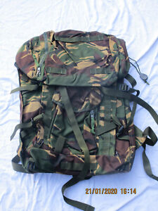 PLCE-Infantry Rucksack,DPM,IRR,Long Convoluted Back,englisch,datiert 2010,MÄNGEL