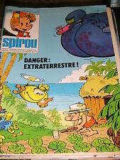 Spirou N° 2068 1/12/1977 Boule et Bill Les petits hommes Khéna Sibylline Jaguar