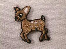 Infant Fawn Deer Embroidered Iron On Patch
