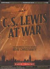 NEW C.S. LEWIS AT WAR Story Behind Mere Christianity Radio Theater 8-Audio CDs
