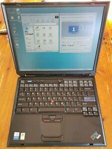 IBM Thinkpad R40 windows 98