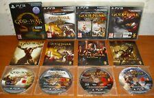God of War Saga (Ascension,Collection HD,Vol.II,III,Trilogía) PS3 Ver. Españolas