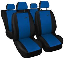 Seat covers fit Ford Focus Mk1 Mk2 Mk3 Mk4 FULL SET  black / blue