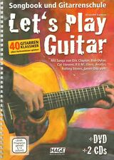 Alexander Espinosa Let's Play Guitar Band 1 Gitarrenschule Noten m. DVD u. 2 CDs