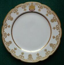 Antique Imperial Russian Porcelain Factory Plate Tsar Nicholas Romanov St George