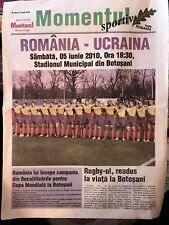 11424-Rumania v Ucrania programa Rugby de 2010 5th de junio de 05/06 de junio Oaks