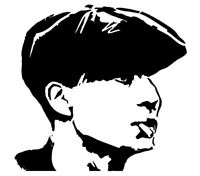 PEAKY BLINDERS  TOMMY SHELBY MYLAR STENCIl Craft Art 125/190 micron A3 /A4 size