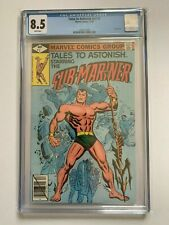 TALES TO ASTONISH #1 CGC 8.5 / White Pages (Marvel 1979 2nd Series) Sub-Mariner