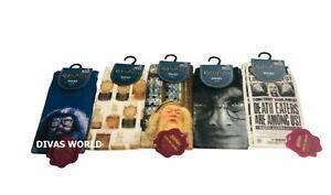 Primark Harry Potter Socks Cosy Printed Ladies Socks Size UK 4-8 Xmas Santa Gift