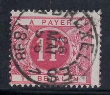 Belgique 1895 Mi. 7 Oblitéré 80% timbre-taxe 1 Fr.