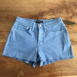 J Crew Mercantile Women's High Rise Stylish Shorts With Pockets Size 27
