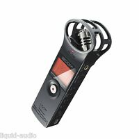 Zoom H1 Handy Handheld Portable Digital Audio Recorder w X/Y Mic NEW + 2DAY SHIP