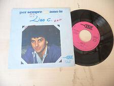 "LINO C.""PER SEMPRE AMO TE- disco 45 giri ERIF Italy 1981"""