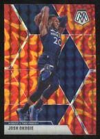 2019-20 Panini Mosaic Josh Okogie Orange Reactive Prizm Timberwolves SP