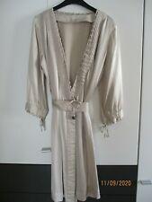 Stella McCartney for H&M Seidenkleid Wickelkleid Gr. 34 reine Seide champagner