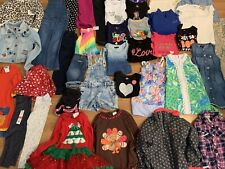 Girls Huge 37pc Clothing Lot Sz 5T 5-6 Gap Lilly Hudson Columbia +